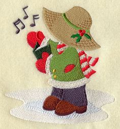 Christmas Caroling Fisherman Fred