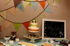 """Photo 3 of 11: retro owl theme / Baby Shower/Sip & See """"Shower for Baby Wayland"""" 