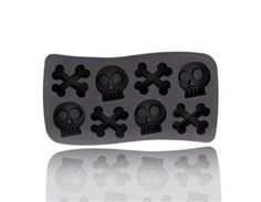 Skull Shaped Ice Cube Tray Mold