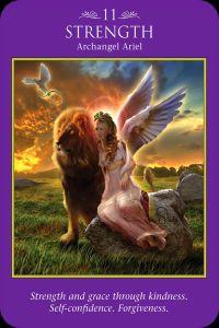 Archangel Ariel: strength