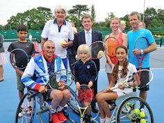 Disability tennis on the rise. I love to play tennis and have been playing for over 10 years so to see programs for people with disabilities to play is awesome! Adaptive Sports, Disabled People, Andy Murray, Play Tennis, Rio 2016, Disability, Change The World, Olympics, To My Daughter
