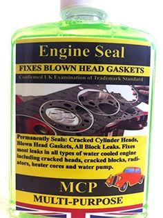 STEEL SEAL HEAD GASKET SEALER MCP CRACKED CYLINDER BLOCKS & WRAPPED BLOWN HEAD GASKET.,PROFESSIONAL: Amazon.co.uk: Car & Motorbike