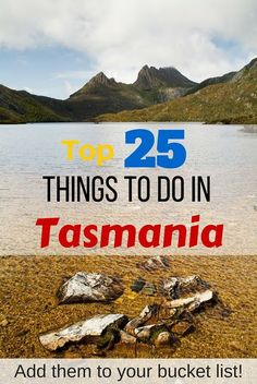Dreaming of Tasmania? Here's the top 25 things to do in Tasmania - add them to your bucket list! Tasmania Road Trip, Tasmania Travel, Travel With Kids, Family Travel, Perth, Ladybug And Cat Noir, New Zealand Travel, Roadtrip, Australia Travel