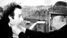 Roberto Benigni & Federico Fellini.