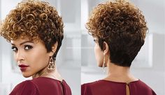 Naturlocken Hairstyles - cuts and styling ideas for all types of curls NATURAL HAIR Curly Hair Cuts, Short Curly Hair, Wavy Hair, Short Hair Cuts, New Hair, Curly Hair Styles, Natural Hair Styles, Permed Hairstyles, Cool Hairstyles