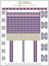Oltenia Embroidery Motifs, Learn Embroidery, Floral Embroidery, Embroidery Designs, Cross Stitch Flowers, Cross Stitch Patterns, Palestinian Embroidery, Cross Stitching, Beading Patterns