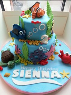The Finding Nemo cake :)