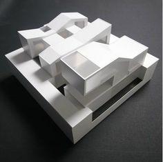 RSN House, zon-e arquitectos, Mutila Alta, Navarra,  maquette, architectural model, maqueta, modulo