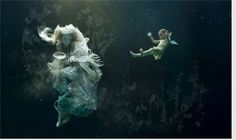 mythical | These stunning pieces of mythical underwater art, 'Waterbabies ...