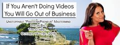 If you are not using YouTube, FB LIVE, or Periscope to create videos, you will go out of business. PERIOD! Join us today... #BeUnstoppable #mediaandthecity #brandit #UnstoppableMomma #Entrepreneur #PersonalBranding #SocialMediaStrategist #HowToPersonallyBrandYou #HowToBecomeAnAuthorityInYourNiche #OnlineMarketingStrategiesForNewbies #PersonalBrandingStrategiesForBusiness #BecomeAnAuthority @bonniebruderer @mediaandthecity @rhondarswan @askbonbon