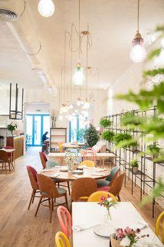 La déco colorée d'un restaurant madrilène (8)