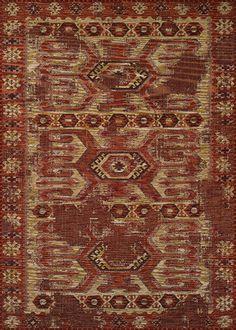 Couristan Mandolina Elmali 3606/0363 Terra Cotta / Ivory  Rug