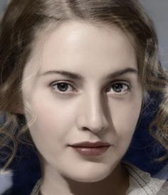 Barbara Stanwyck does this not look like Kate Winslet? eyes?