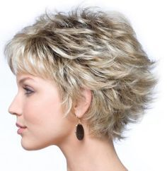 Image result for Short Fine Hairstyles for Women Over 50