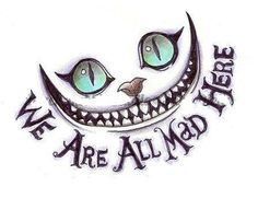 LOVE the new Alice In Wonderland version. I especially fell n love with the Mad Hatter Tattoo Gato, Kitty Tattoos, I Tattoo, Alice In Wonderland Drawings, Alice And Wonderland Quotes, Wonderland Party, Future Tattoos, New Tattoos, Cool Tattoos