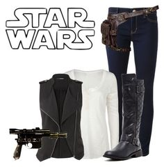 """Han Solo"" by inspiredoutfitsfandoms ❤ liked on Polyvore featuring Michael Kors, Full Tilt, maurices and Bucco"