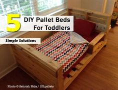5 DIY Pallet Beds For Toddlers