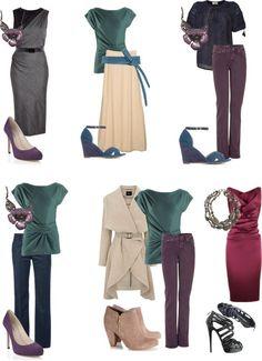 Kleuren voor het gedempt-koele type | Lida Thiry