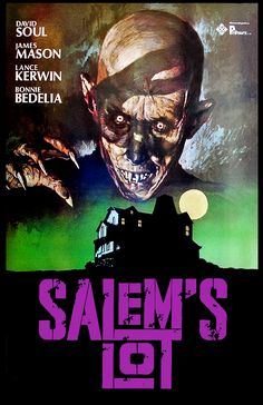 Salem's Lot (1979) | dir. Tobe Hooper | David Soul, James Mason | 112 min | novel by Stephen King