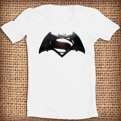 Superman vs Batman shirt logo design