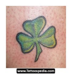 3%20Leaf%20Clover%20Tattoo%2004 3 Leaf Clover Tattoo 04 Design Ideas