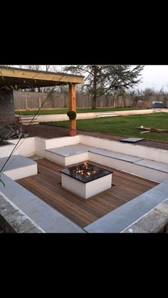 Awesome fire pit ideas for your backyard (26)