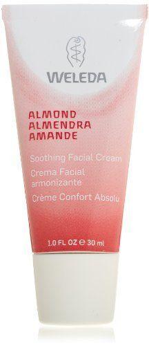 Weleda Almond Soothing Facial Cream, 1-Fluid Ounce by Weleda, http://www.amazon.com/dp/B003LDJK5O/ref=cm_sw_r_pi_dp_N8Tesb0FD6YQ8