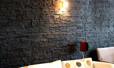 Faux Stone Slate Wall Panel Range for Interiors Interior Design Books, Interior Design Singapore, Cafe Interior, Interior Walls, Interior Decorating, Faux Stone Wall Panels, Faux Stone Walls, Exterior Wall Panels, Wood Cafe