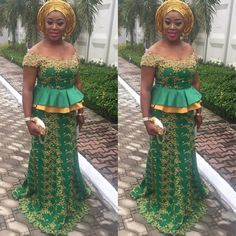 Stunningly Cute Aso Ebi Lace Styles for Weekend Parties.Stunningly Cute Aso Ebi Lace Styles for Weekend Parties African Dresses For Women, African Print Dresses, African Attire, African Fashion Dresses, African Wear, African Women, African Prints, African Beauty, Aso Ebi Lace Styles