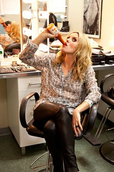 #gracepotter being goofy with the Tapatio hot sauce... lol.