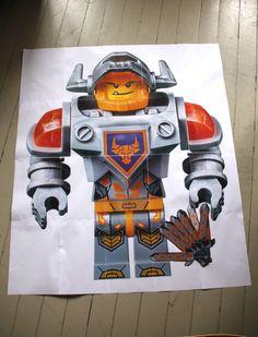 Kindergeburtstag Lego Nexo Knights auf Stadtschwalben.com