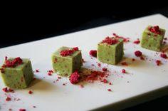 Valentine green tea chocolate (red fruit cliff)