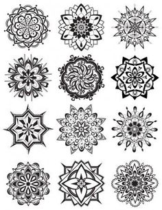 Mandala Coloring Pages - Dabbles & Babbles: