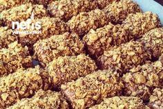 Mısır Gevrekli Nişastalı Kurabiye Tarifi – Nefis Yemek Tarifleri – Receta de arroz – Las recetas más prácticas y fáciles Tahini, Beautiful Cakes, Dog Food Recipes, Cereal, Almond, Food And Drink, Gluten, Tasty, Sweets