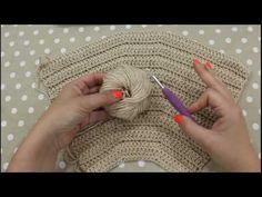 TUTORIAL: fat bottom/ borsa all'uncinetto/lafatatuttofare-Materiali Tessiland® - YouTube