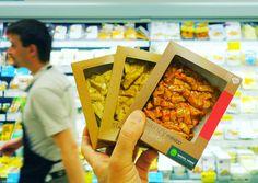 Conosci gli #Stizikinzy? Sono bocconcini di #tofu e #seitan già pronto all'uso, basta scaldarli velocemente in padella. Da #ReginaVerde