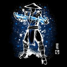 Shop The Thunder God mortal kombat t-shirts designed by Soulkr as well as other mortal kombat merchandise at TeePublic. Raiden Mortal Kombat, Mortal Kombat Art, Dope Cartoons, Dope Cartoon Art, Graffiti Characters, Anime Characters, Dope Wallpapers, Stencil Art, Character Drawing