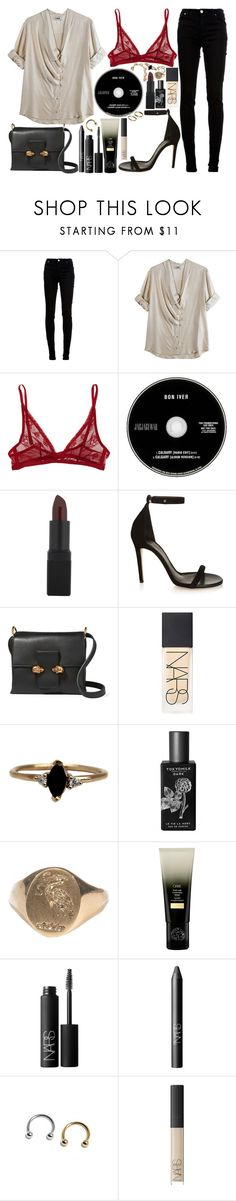 """""""we don't talk about it"""" by velvet-ears ❤ liked on Polyvore featuring dVb Victoria Beckham, Acne Studios, Calvin Klein Underwear, Christian Dior, NARS Cosmetics, Isabel Marant, Alexander McQueen, LUMO, TokyoMilk and Balenciaga"""