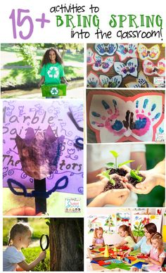 Bring Spring into the Classroom!  Great selection of Science-related Art activities.