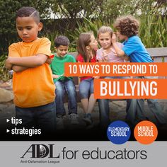 This article highlights the different resources and ways that your student can cope with and respond to bullying.