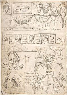 Andrés de Melgar - Sketches of Grotesques