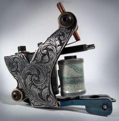 Tim Hendricks tattoo machine Art | tattoos picture tattoo machine