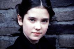 """A very young Jennifer Connelly in """"Once upon a time in America"""" (1984)"""