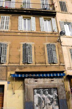 La belle de mai /collage de JR/ 2013, Cultural Trips, Marseille
