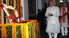"Mann ki Baat: PM Modi paid tribute to RSS ideologue Vinayak Damodar Savarkar on his 134th birth anniversary. Prime Minister Narendra Modi on Sunday said that ""constructive criticism"" is important for a vigilant and responsive nation.   #indian politics #latest politics news from india"