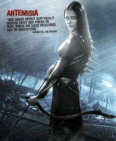 300 Rise of an Empire Artemisia Warrior Costume  RC