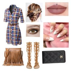 """""""Untitled #22"""" by kalaniibaby ❤ liked on Polyvore featuring beauty, LE3NO and Chanel"""