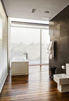 World of #Architecture: #Modern Dream #Home In Guatemala City by Paz Arquitectura | #worldofarchi #house #bathroom
