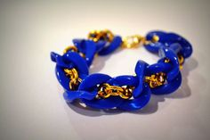 Love this blue bracelet from AfterSunset on etsy.