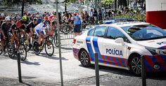 Police escort  #triathlon #triatlon #swimbikerun #europeanchampionship #lisbon